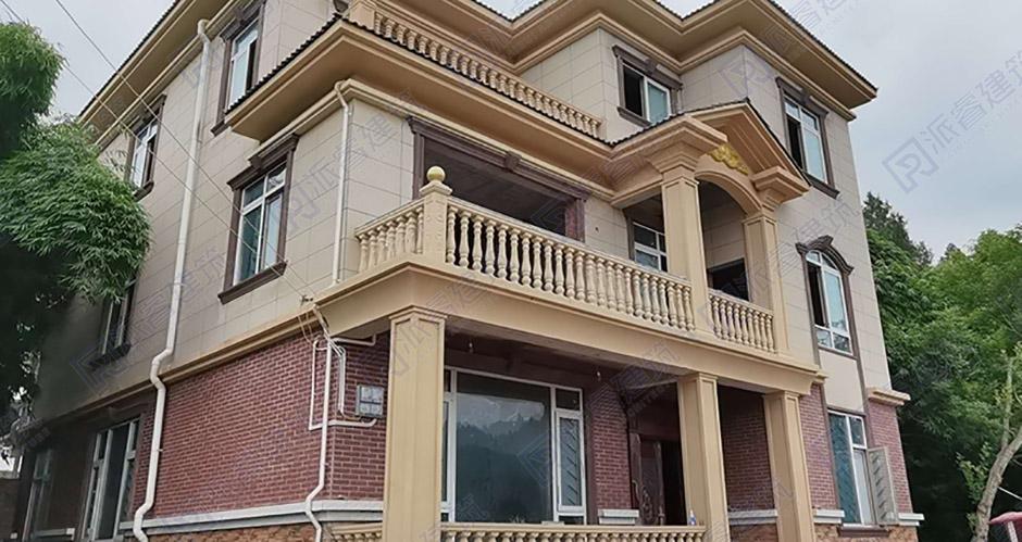 四川-三层农村别墅户型图-农村自建房设计图-L091
