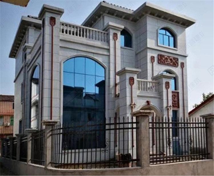 湖南株洲-28万简约明亮的三层房屋设计图纸_复式别墅图片大全-PR279