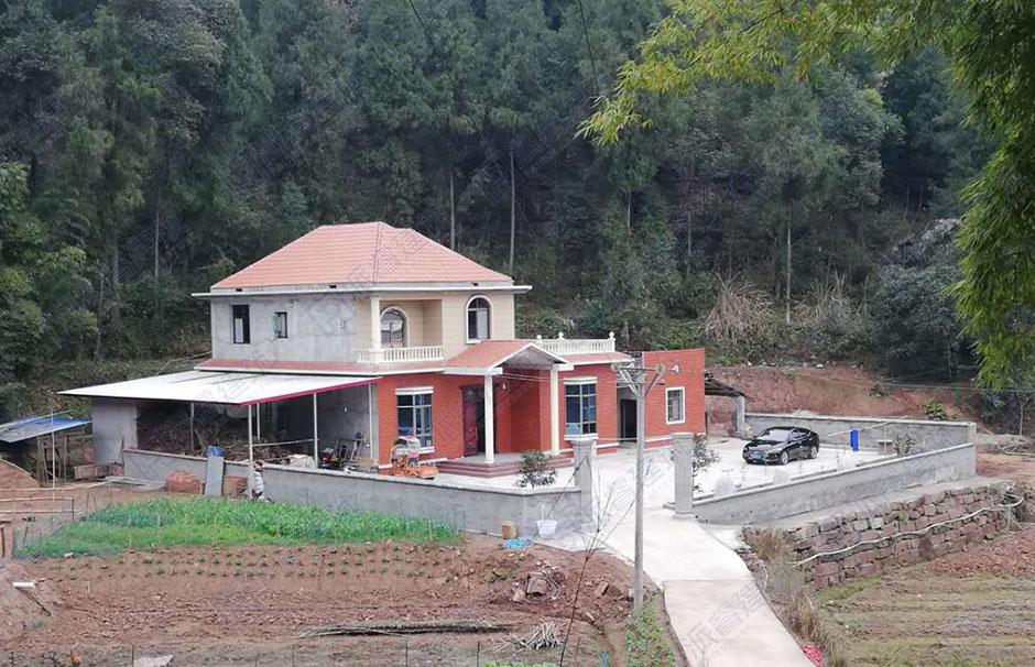安徽六安-150平二层农村独栋别墅户型图_农村自建房设计-PR219