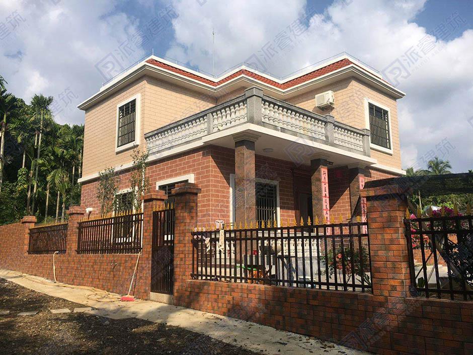 海南-115平二层自建农村别墅设计图-农村自建房设计-PR211