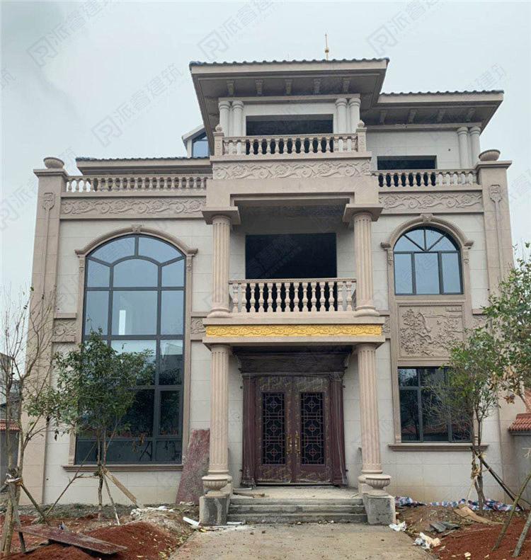 湖南-30万建农村豪华别墅设计图纸及效果图-派睿建筑设计-PR271