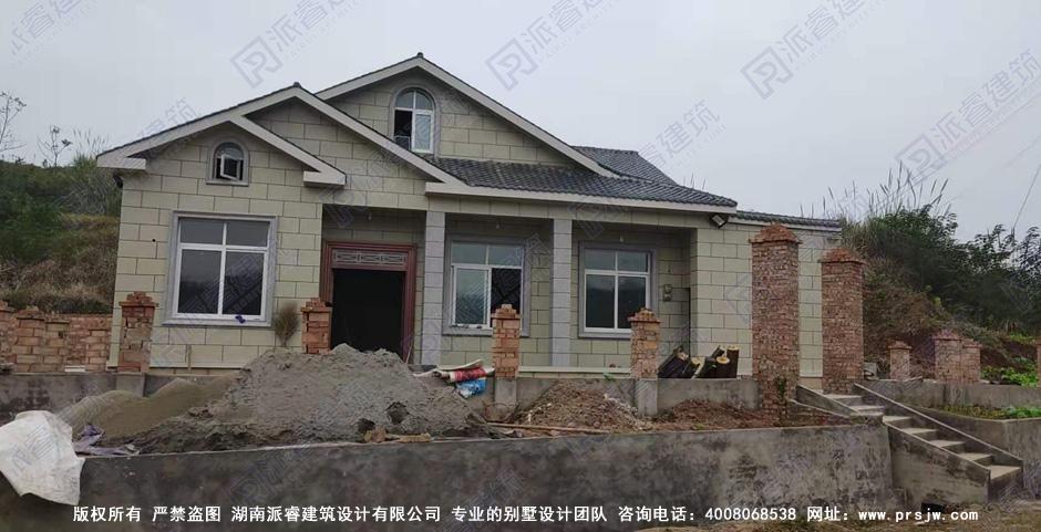 贵州黔南-农村一层房屋设计图|农村最简单的一层房子设计图片-PR183