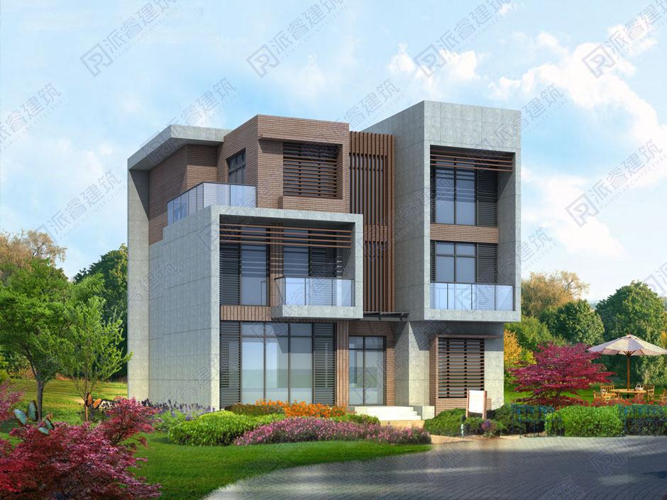 PR467 新农村三层现代小别墅设计图纸乡村经济自建房全套图简欧风,农村自建房设计图