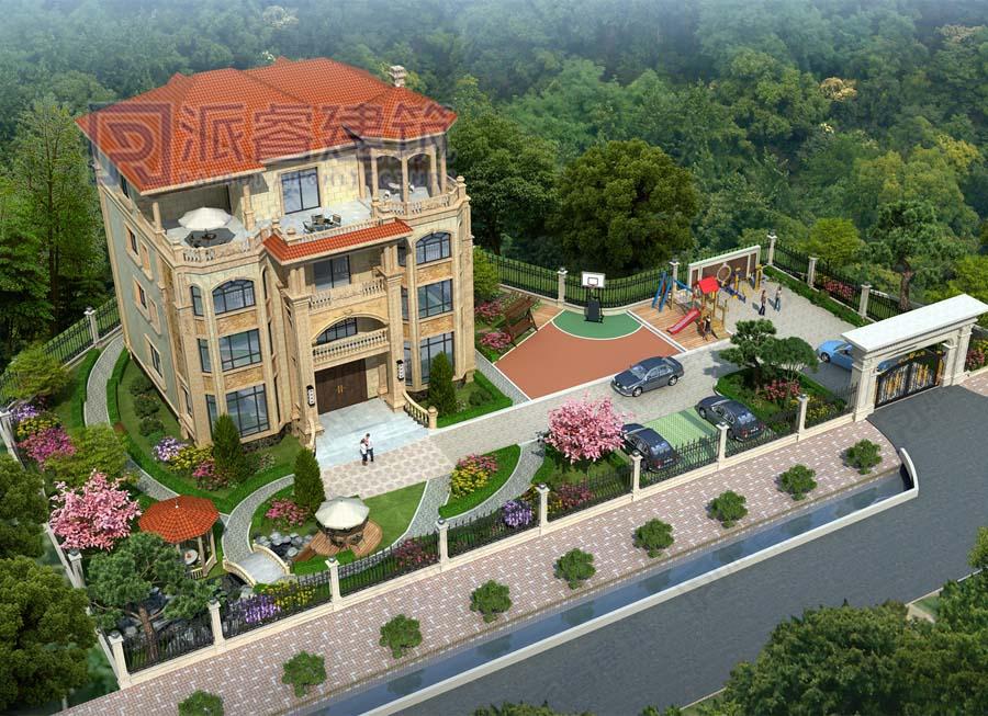 PR704-农村别墅庭院景观设计图|欧式花园,打造精致慢生活
