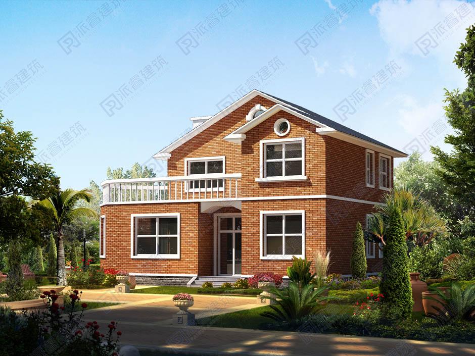 PR180 农村二层小别墅-别墅设计图片,新农村房屋设计,农村自建房别墅图片,派睿建筑