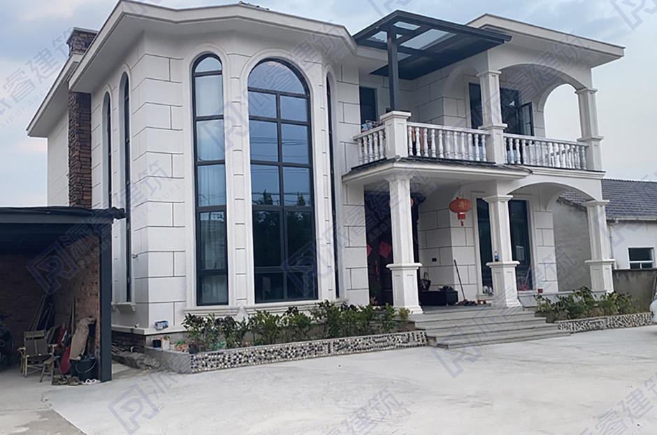 湖南长沙-150平复式别墅设计实景图-PR451