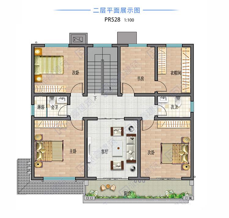 農村自建簡單二層別墅528.jpg