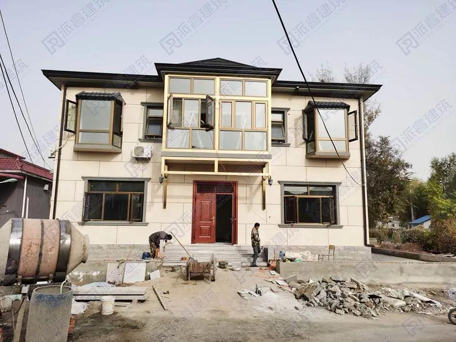 北京谷先生与派睿建筑成功签约,施工回访|北京农村自建别墅设计
