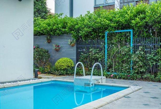 新款推出-乡村现代最美别墅庭院设计图,浪漫甜蜜的美式风格