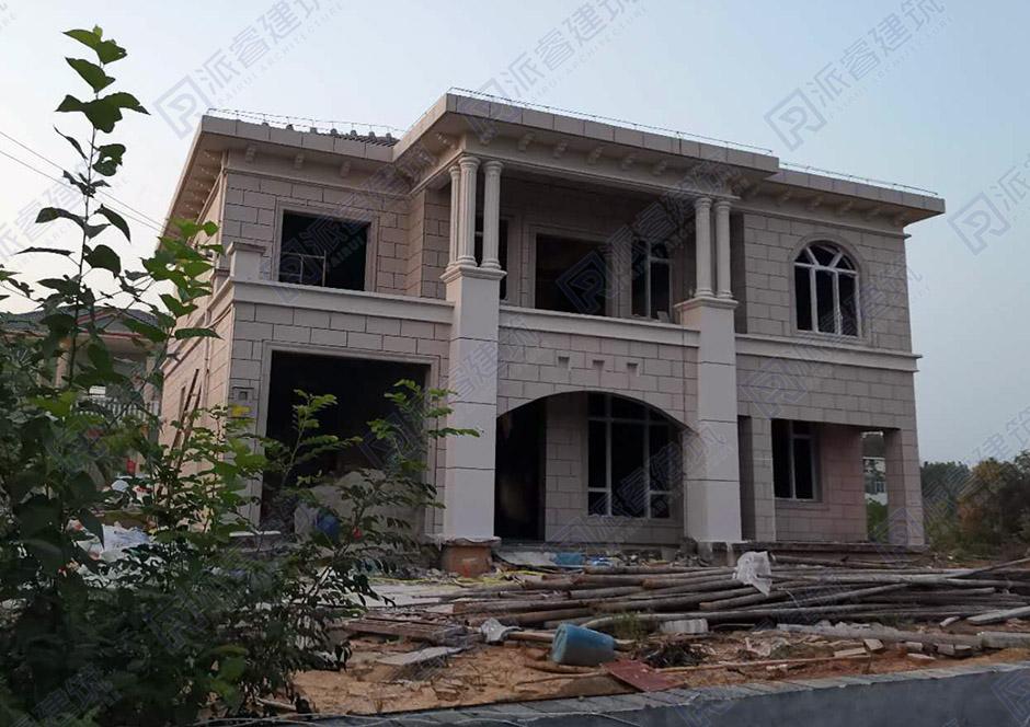 湖南常德-166平二层农村小别墅设计图_农村自建房设计图-PR228