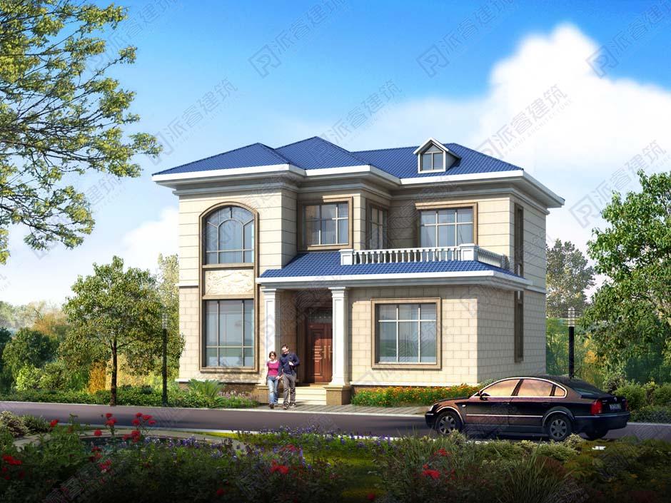 PR481 农村二层别墅外观大气全套设计,施工图全套图纸-派睿建筑