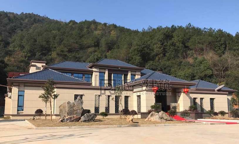 湖南娄底-自建新中式四合院别墅实景图片,意境之美,传世大宅