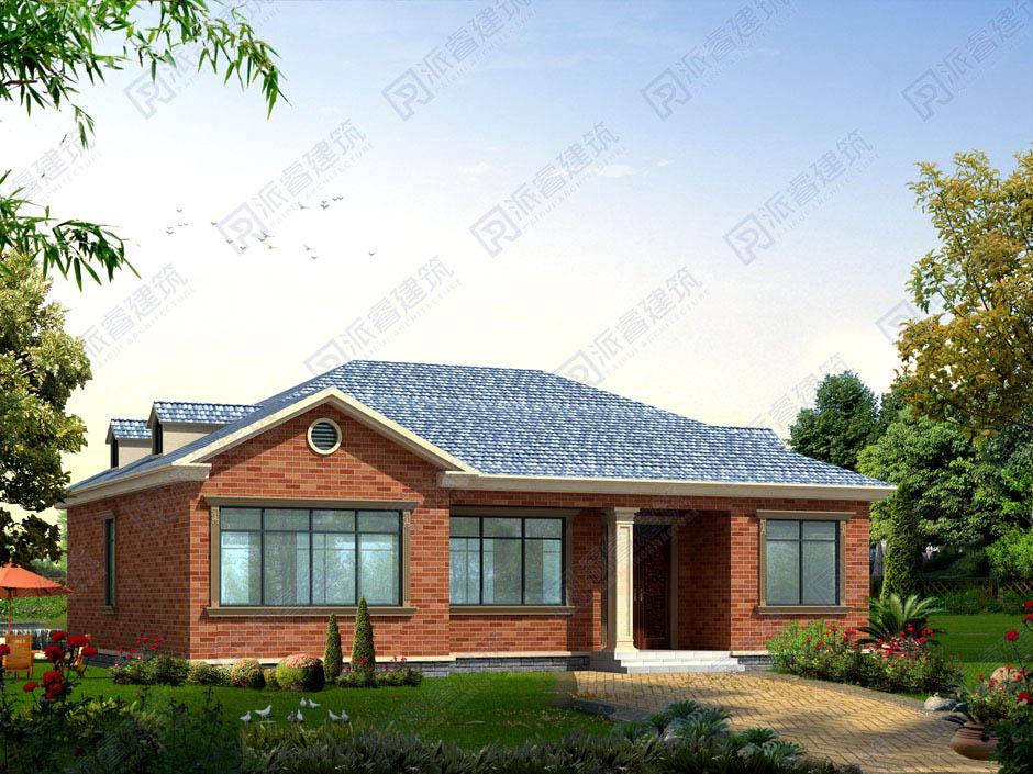 PR058 农村造价20万豪华小别墅带阁楼全套设计图纸-派睿建筑