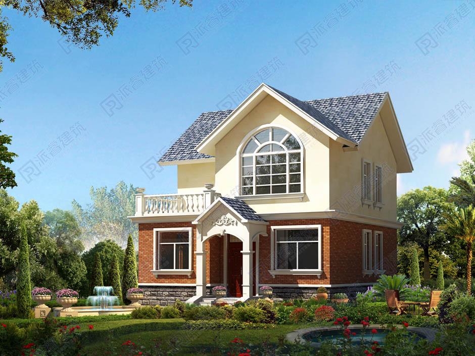 PR178 农村二层小别墅-别墅设计图片,新农村房屋设计,农村自建房别墅图片,派睿建筑